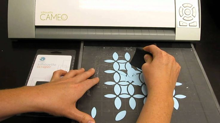 silhouette cameo instructional video