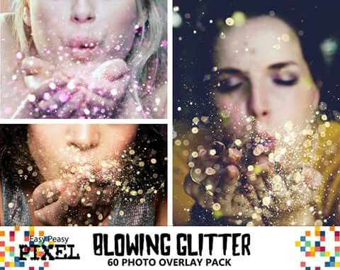Blowing Glitter Overlays! Carefully selected HD images at different focal depths that you can combine to create realistic Glitter Effects. Great for portraits, kids pictures and weddings.  https://www.etsy.com/listing/266776371/blowing-glitter-overlays-glitter  One of our favorites during Spring.