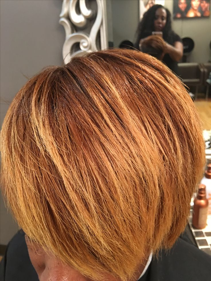 42 best hair color images on pinterest hair coloring hand block color golden highlights hand painted balayage ombr natural hair color hair copper gold red heads pmusecretfo Image collections