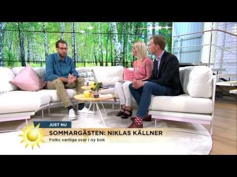 """Dagens sommargäst Niklas Källner: """"Alla människor har något att berätta""""..."""