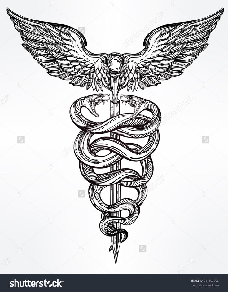 the 25 best ideas about caduceus tattoo on pinterest medical tattoos nurse tattoos and. Black Bedroom Furniture Sets. Home Design Ideas