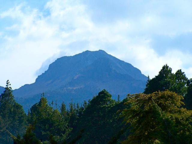 La Malinche volcan extinguido-mexico