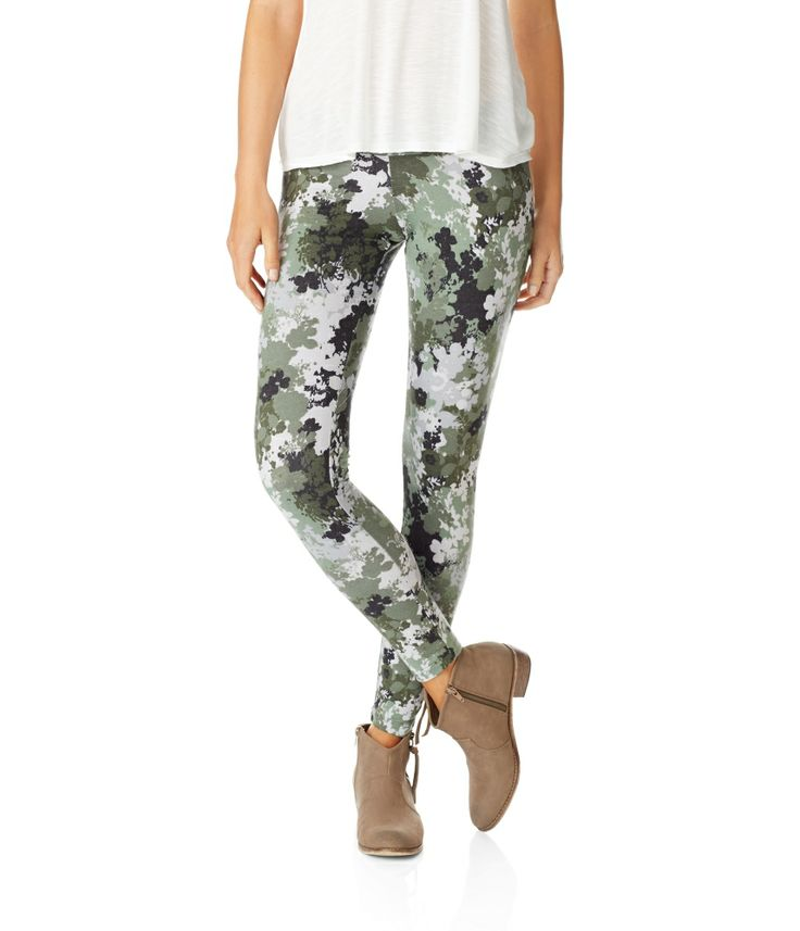 Realtree Camo Yoga Shorts Color Options By Girlswithguns22: Floral Camo Leggings From Aeropostale