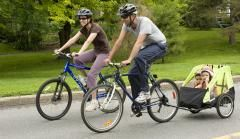Sunday Bikedays -- Certain Ottawa roads are closed to motor vehicles on Sundays and opened up to pedestrian, cyclists, skaters, etc.