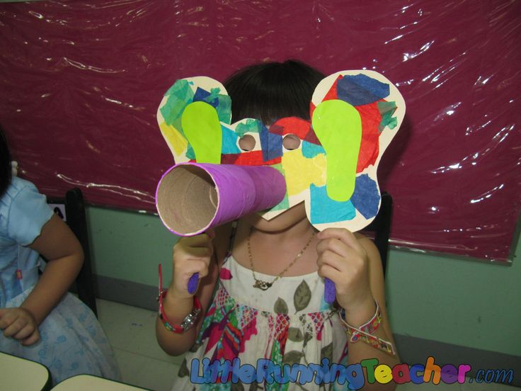 Elmer elephant mask