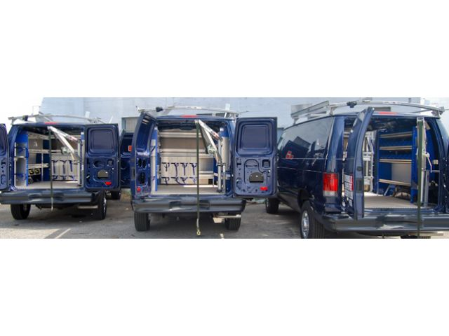 Commercial Van Shelving, Equipment and Interiors | Van Ladder Racks new york - 1A Classified
