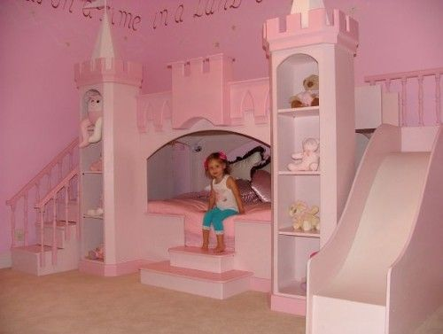 WOWLittle Girls, Girls Bedrooms, Bunk Beds, Dreams Beds, Princesses Castles, Girls Room, Kids, Princesses Bedrooms, Princesses Room