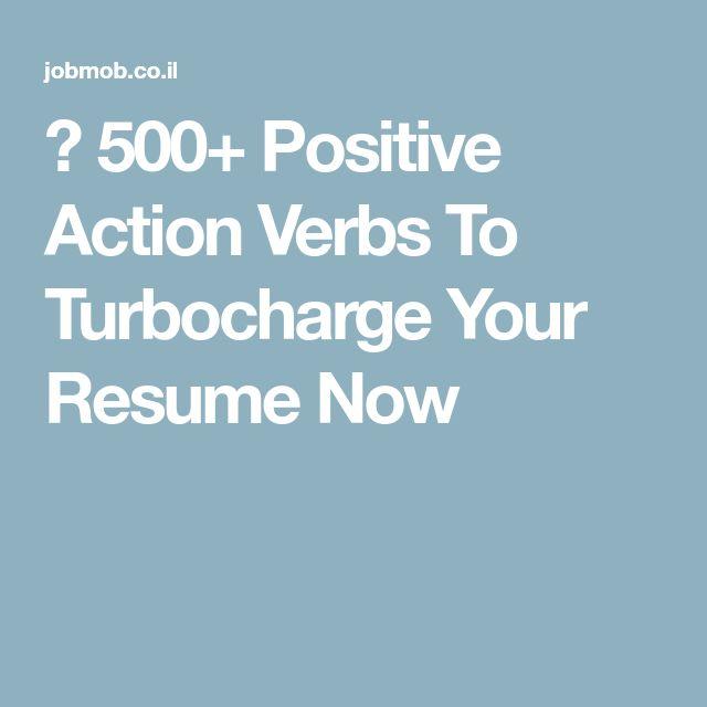 Mer enn 25 bra ideer om Resume verbs på Pinterest Resymé - resume verbs