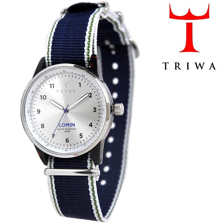 【楽天市場】【Safari VOGUE GQ 掲載ブランド】TRIWA(トリワ) リストウォッチ 腕時計 DAYLIGHT LOMIN ネイビー×シルバー 【送料無料】:BANPERHIT!