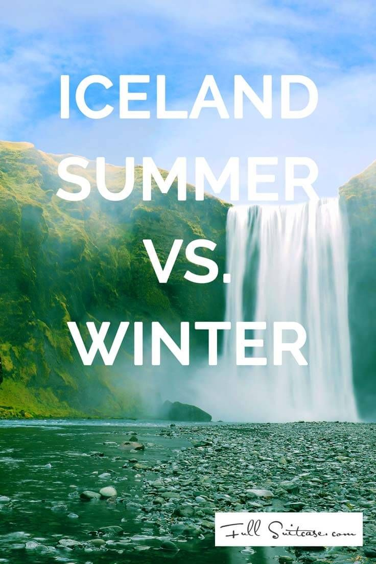Iceland is beautiful all year round, but many activities are season-related…