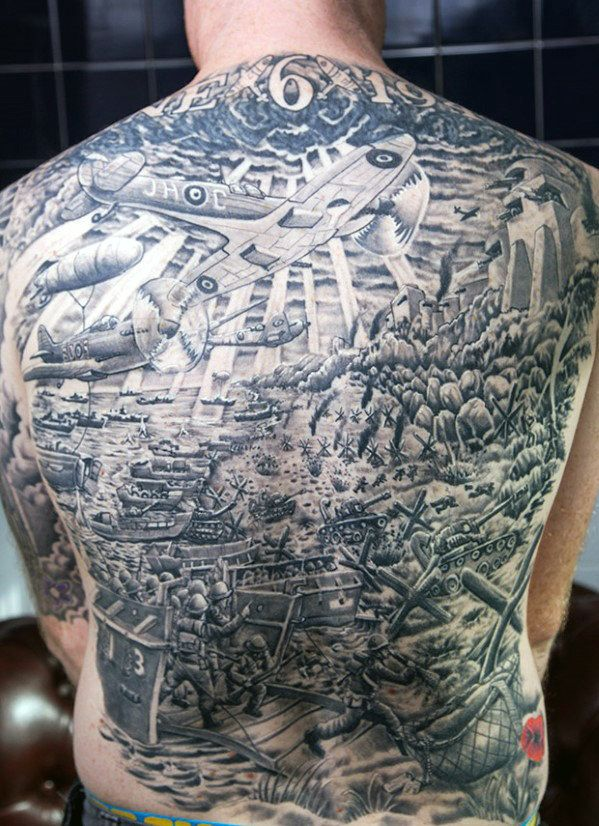 Men's Back Tattoo Designs