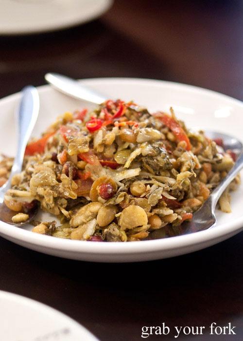 Preserved tea leaf salad - Kambozza.Parramatta