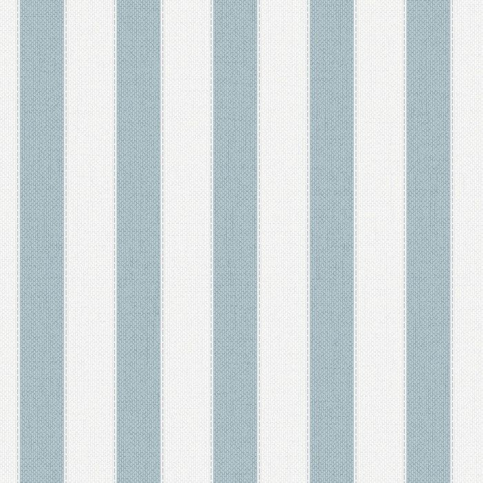 Blue Ticking Stripe Wallpaper - Blue Stripes Wall Coverings by Graham  Brown