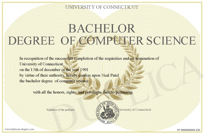 5 Year Goals Earn My Bachelors Degree In Computer Science