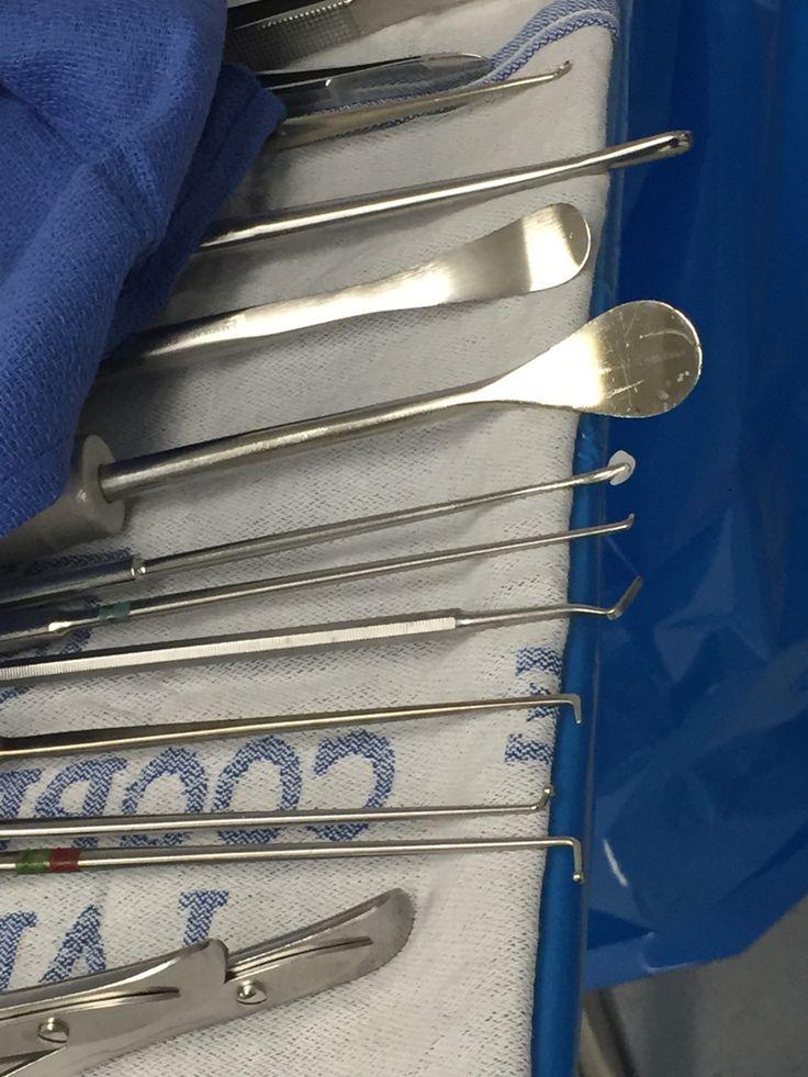 Laminectomy and decompression instruments Mayo Neuro surgery