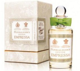 Penhaligon's Empressa evoking pearls and  precious fabrics grout to London from the far reaches of the Empire