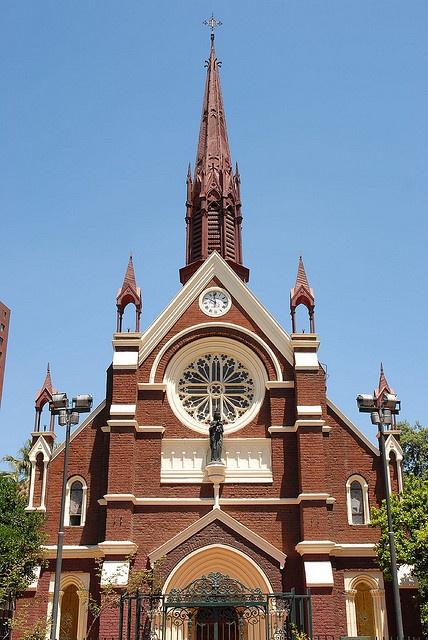 Iglesia San Francisco de Borja, calle Carabineros de Chile #160, Santiago, Chile.