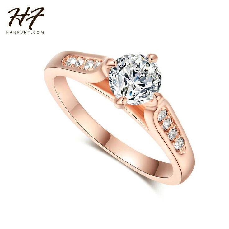 Anel Herfans Dourado Rosê! Lindo anel! Muito delicado! – FMK Importações