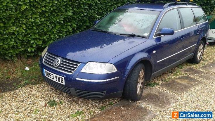 VW Passat 1.9TDI Estate Spares or Repair #vwvolkswagen #passat #forsale #unitedkingdom