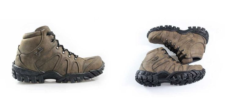 Vegan leather walking boots. Lightweight. Hiking.