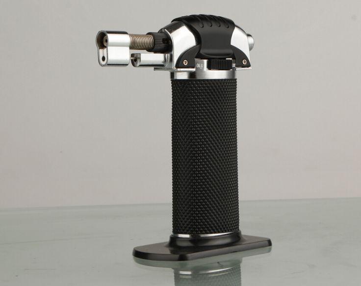 20pcs/lot 2015 wholesale high quality jet cigarette lighter refillable butane gas welding torch GF-851