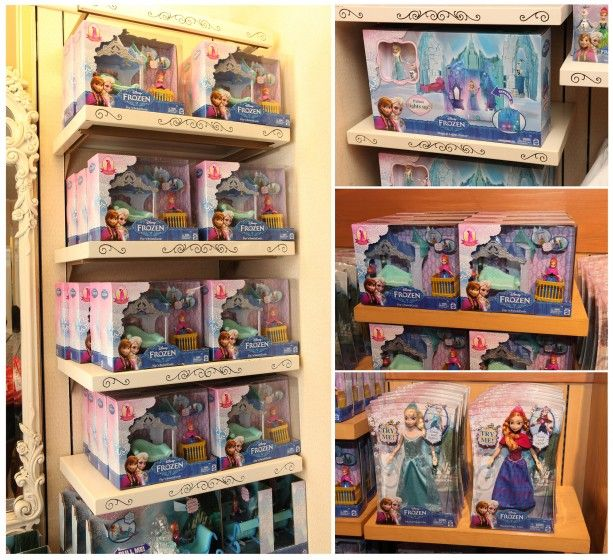 New Frozen playsets!