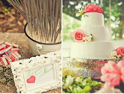 Becoming Mrs. Ford: Gorgeous Coral and Green Real Wedding