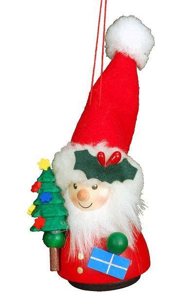 Santa Wobbly - Wackelmensch Ornament. Christian Ulbricht is famous for his  Wackelmensch - small wooden