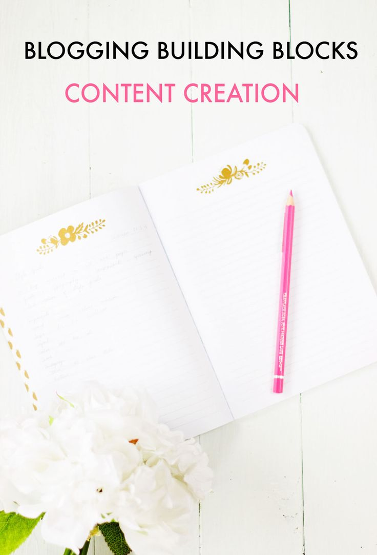 9 USEFUL CONTENT CREATION TIPS FOR BLOGGERS | PINKPOT