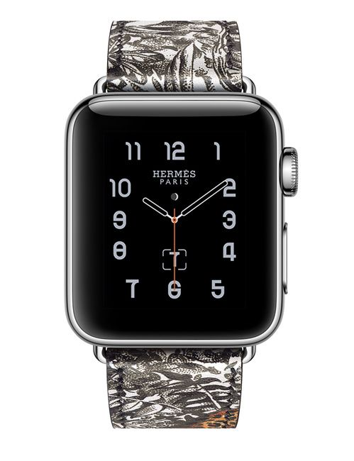 Montre Apple Watch Hermes bracelet Equateur Tatouage