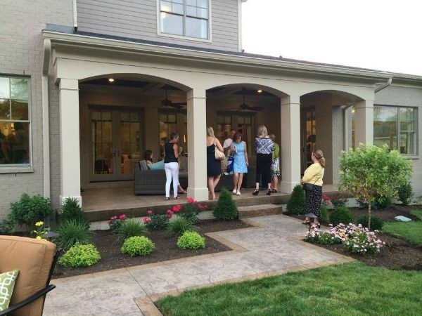 25 best ideas about covered back porches on pinterest for Back porch cover ideas