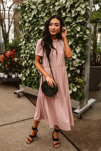 Emma Tiered Midi Dress 1