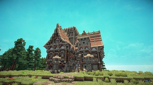 small minecraft cottage medieval - Google Search