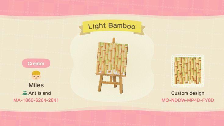 Bamboo Ideas Acnh