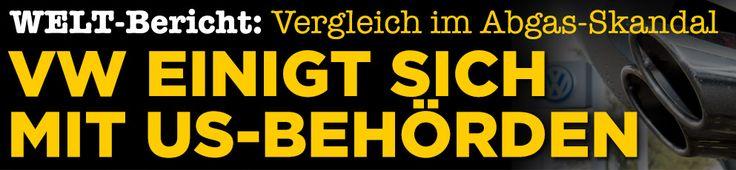 #VW einigt sich grundsätzlich mit #USA-Vertretern bei '#DieselGate' http://www.bild.de/geld/wirtschaft/volkswagen/abgas-skandal-behoerde-ueberliess-audi-die-kontrolle-45468866.bild.html http://www.welt.de/wirtschaft/article154583238/Betrogene-Kunden-sollen-5000-Dollar-von-VW-erhalten.html http://www.boerse-online.de/nachrichten/aktien/Welt-Volkswagen-einigt-sich-grundsaetzlich-mit-US-Vertretern-bei-Diesel-Gate-1001160084