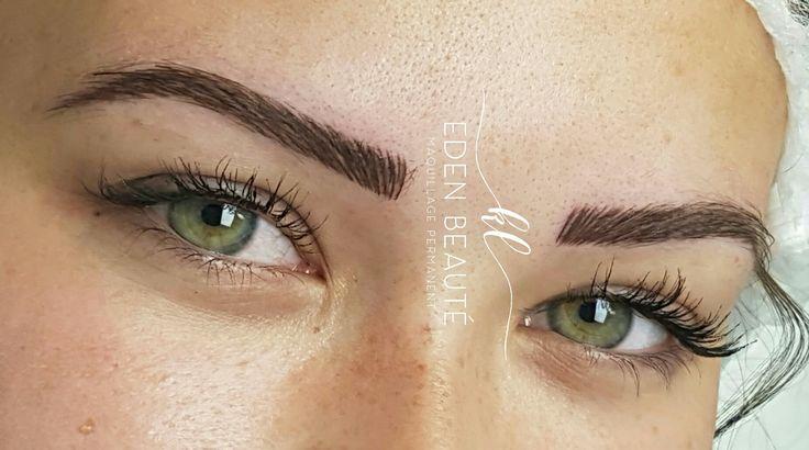 25 best ideas about maquillage permanent sur pinterest formes de sourcils - Maquillage permanent sourcils poil a poil ...