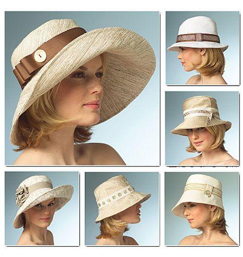 Шитье   Модные узоры, Флисовые шляпы, Летние шляпы