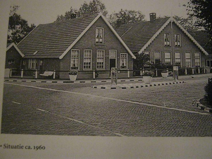 het Oosteinde 1960. Vriezenveen. Nederland.