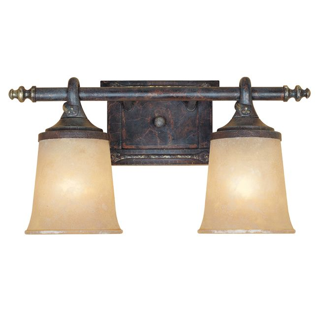20 best rustic vanity lighting images on pinterest rustic vanity designers fountain 97302 two light down lighting wide bathroom fixture fro weathered saddle indoor lighting bathroom fixtures vanity light aloadofball Image collections
