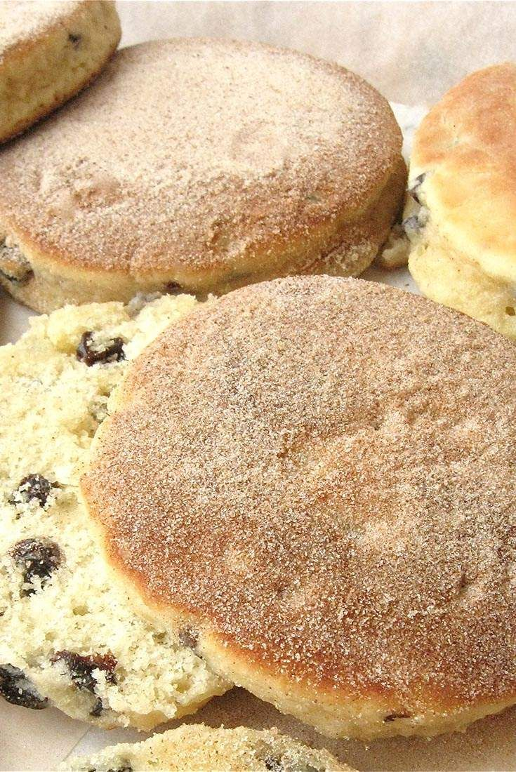 Jam Filled Welsh Cakes Recipe