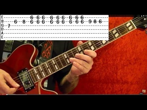 JOHNNY B. GOODE - Chuck Berry - Guitar Lesson - YouTube