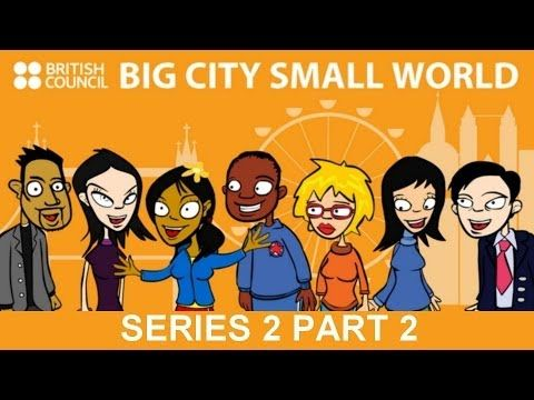 Big City Small World Series 2 Episodes 4-6: Save the Café! – Good Journalism? – Welcome Back Johnny!