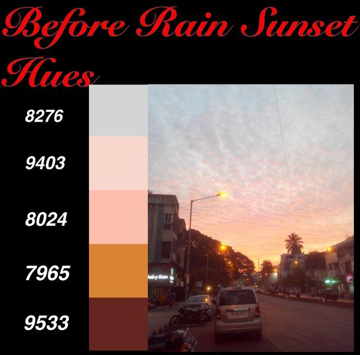 #Before Rain #Sunset