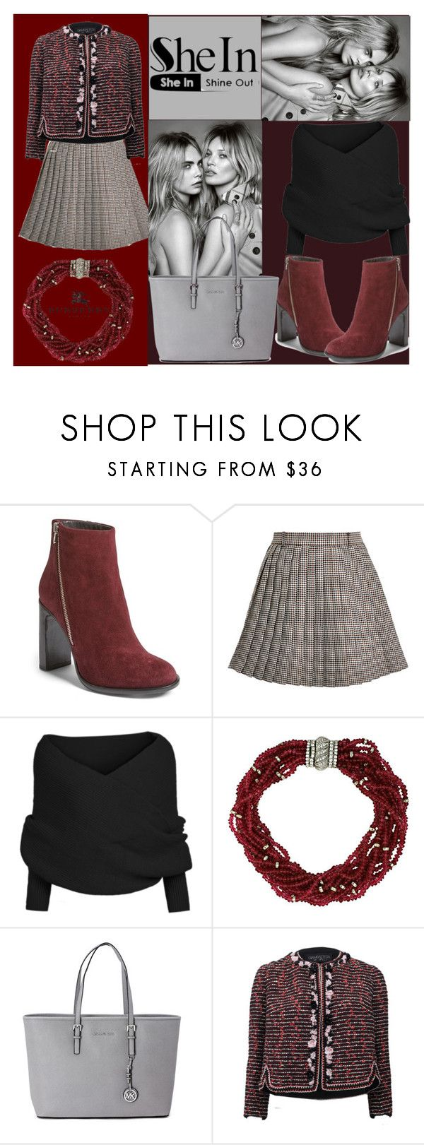 SHE IN (CONTEST) by denisa-marcu on Polyvore featuring Giambattista Valli, Thom Browne, rag & bone, Michael Kors, Ciner, Burberry, michaelkors, ragandbone and THomBrowne