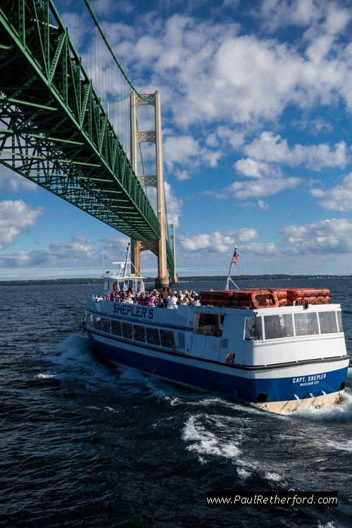 Sheplers Mackinac Island ferry bridge tour Mackinaw City St. Ignace Michigan Photography Are you ready for summer?  #puremichigan