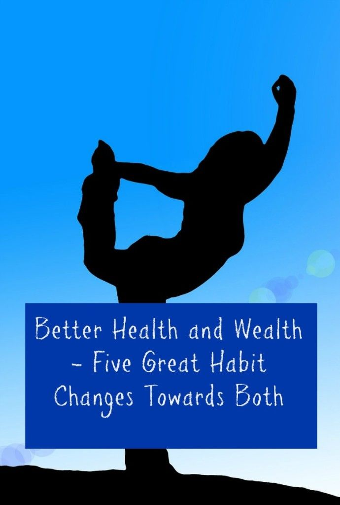 self improvement tips and advice Better Health and Wealth - Five Great Habit Changes Towards Both - family budgeting