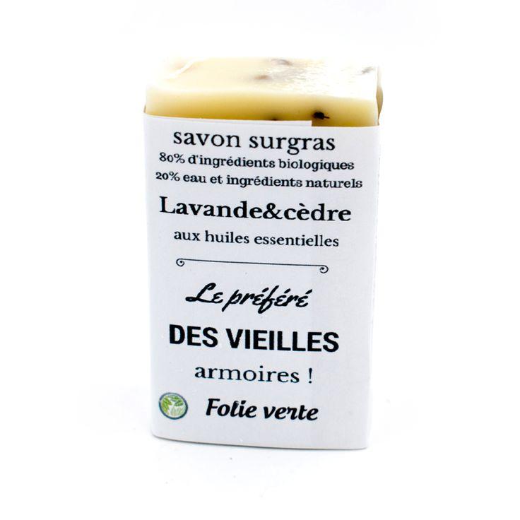 Savon Lavande et Cèdre