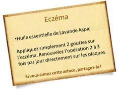 Lavande Aspic huile essentielle eczéma