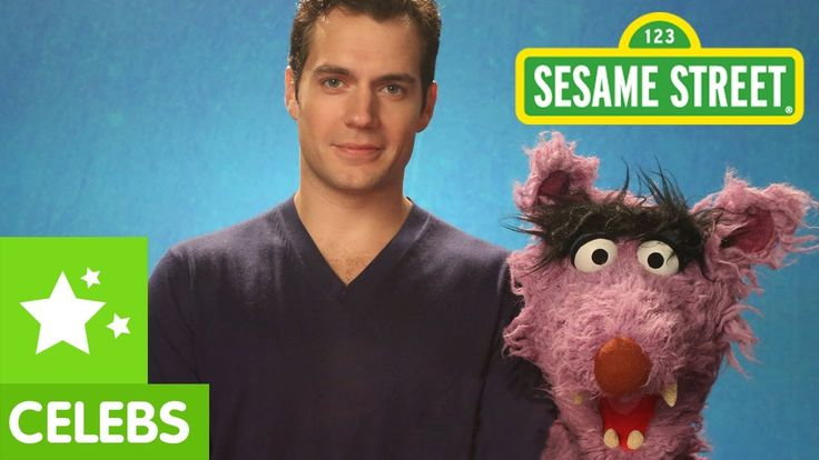 Henry Cavill & Elmo teach Respect to the Big Bad Wolf... My students need to learn respect... I need him to help me. ;)