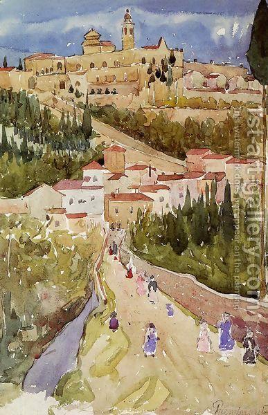 Maurice Brazil Prendergast:Assisi